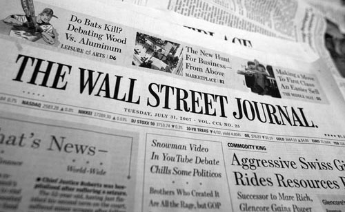 The Wall Street Journal. February 22nd, 2010